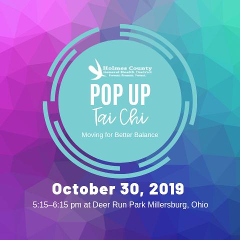Pop Up Tai Chi Bargain Hunter 10-09-19